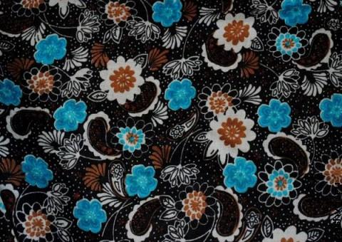 Ткань узорная Старинный платок