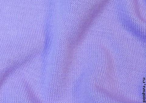 Ткань трикотаж Цветы Ириса
