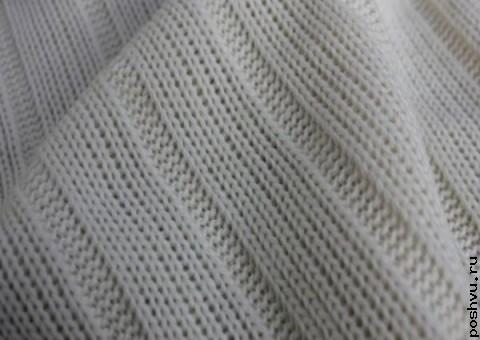 Ткань трикотаж мелкой вязки Уютный