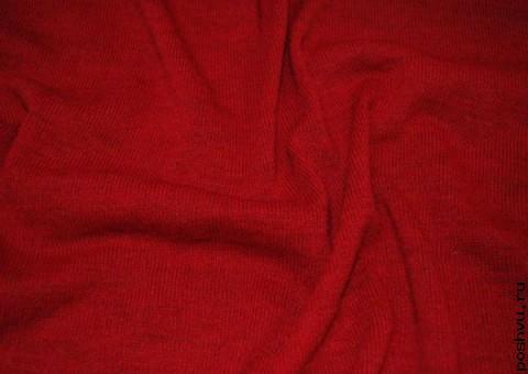Ткань трикотаж шерстяной  Цвет Франции