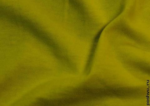 Трикотажная ткань Лаймовый взрыв