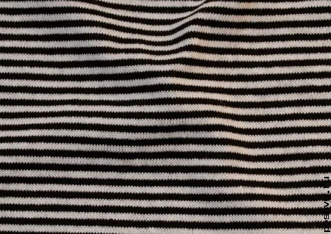 Трикотажная ткань Морская полоска