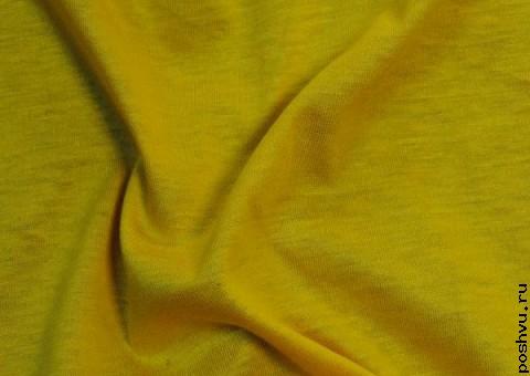 Трикотажная ткань Одуванчик
