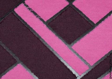 Трикотажная ткань Орнамент Континенталь