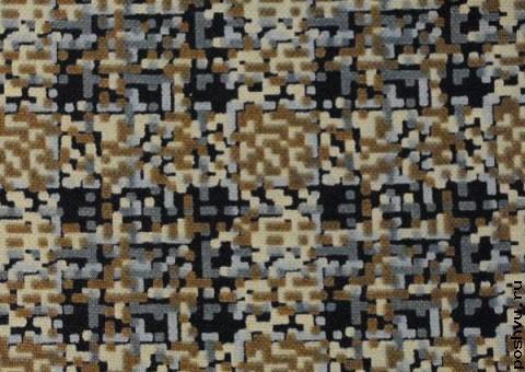 Трикотажная ткань Пиксельный узор