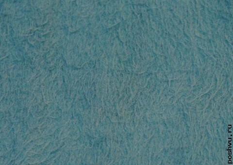 Трикотажная ткань с начесом Морская гладь