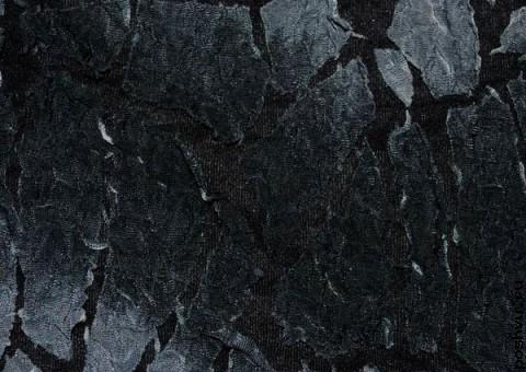 Трикотажная ткань с текстурой Старый асфальт