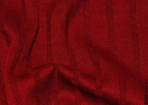 Трикотажная ткань Спелый гранат