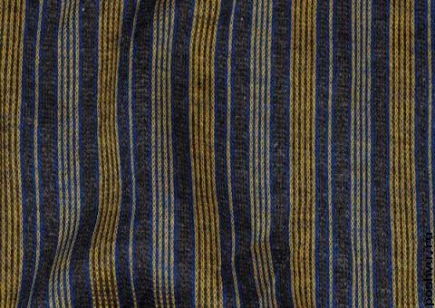 Трикотажная ткань Золотая полоска