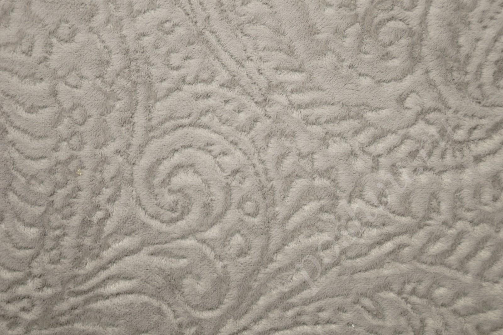 3d5dac36ad2a1 Ткань для мебели микрофибра серого цвета с узором купить для обивки ...