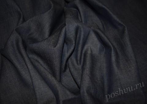 Ткань джинсовая Черный плащ