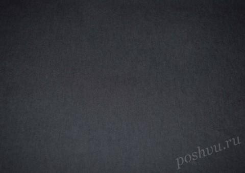 Ткань джинсовая серо-синего цвета