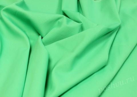 Ткань Джинсовая Зеленого оттенка
