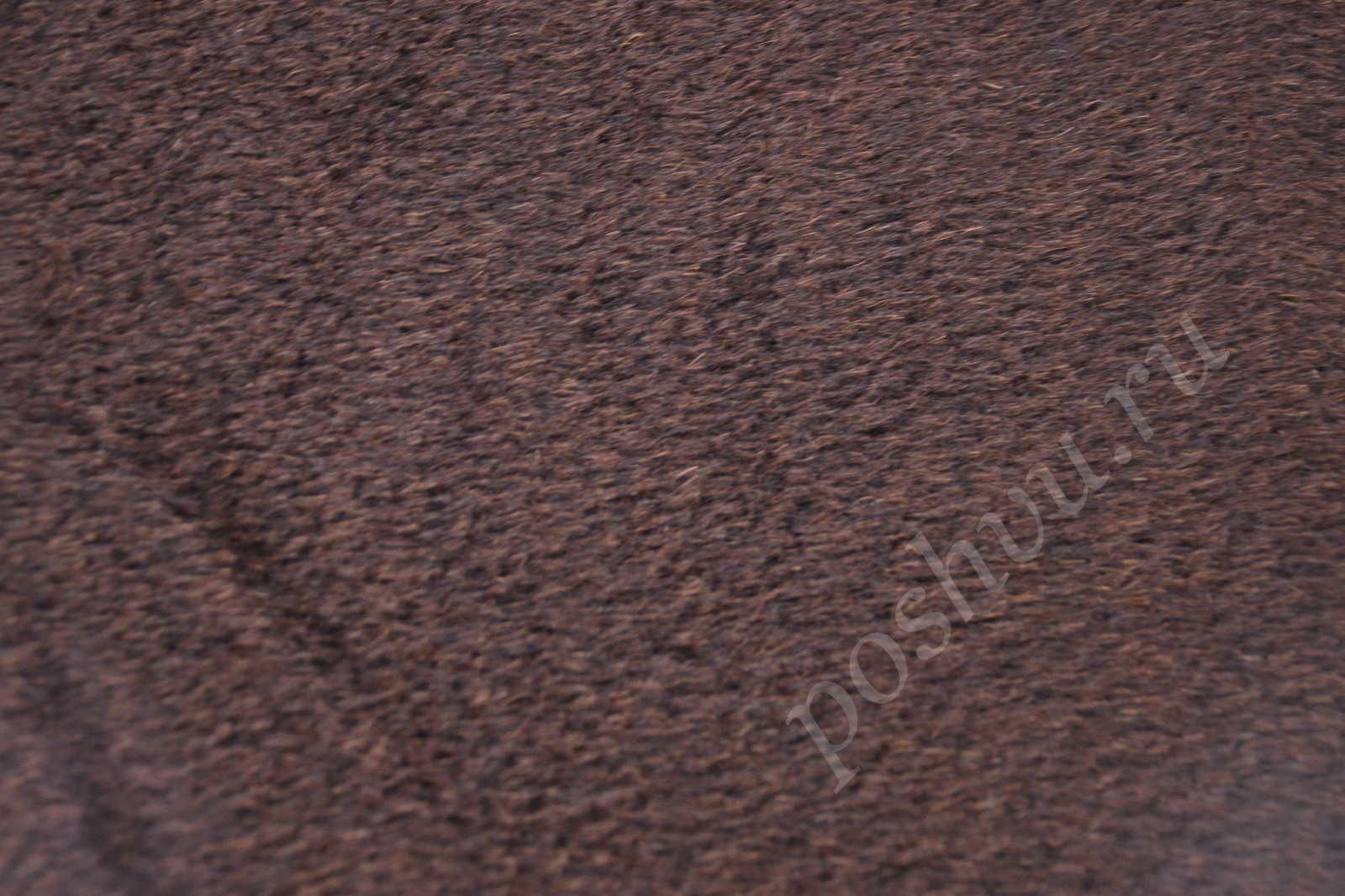 Черно-коричневый цвет ткани