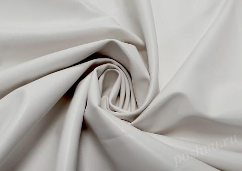Ткань экокожа Альбион белая