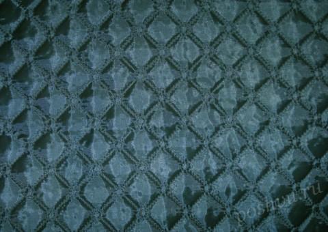 Ткань стеганая для подклади Морские горизонты
