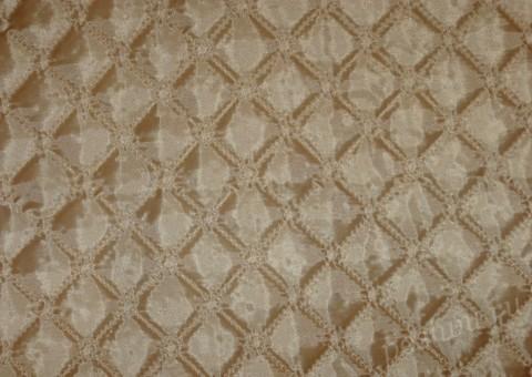 Ткань стеганая для подкладки Кофейная гуща