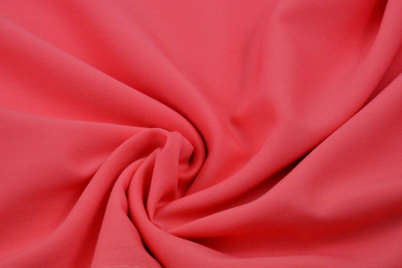 Ткань Для Платья Цвет Коралловый Купить
