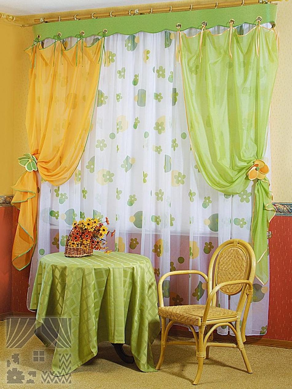 кухни фото желто зеленые