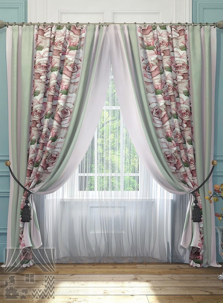 Самые дешевые шторы и тюли комплекты