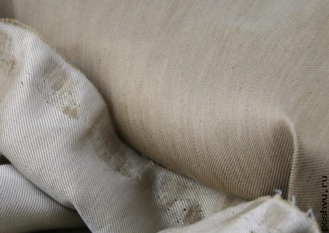 Ткань льняная Сильвер