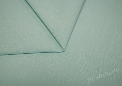 Ткань из льна голубого цвета