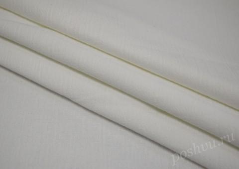 Ткань льняная белая 210гр/м