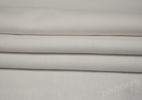 Ткань льняная Белая 180гр/м
