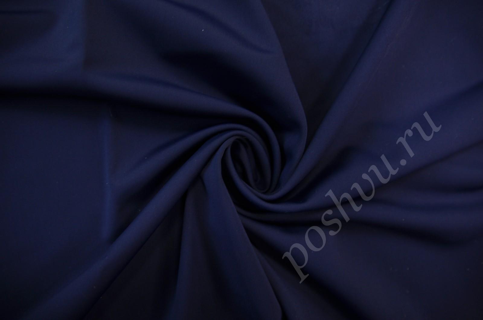 dc7108a3745ed Бифлекс матовый темно-синего цвета — купить ткань бифлекс для любого ...
