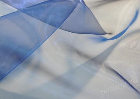 Органза Голубая фея