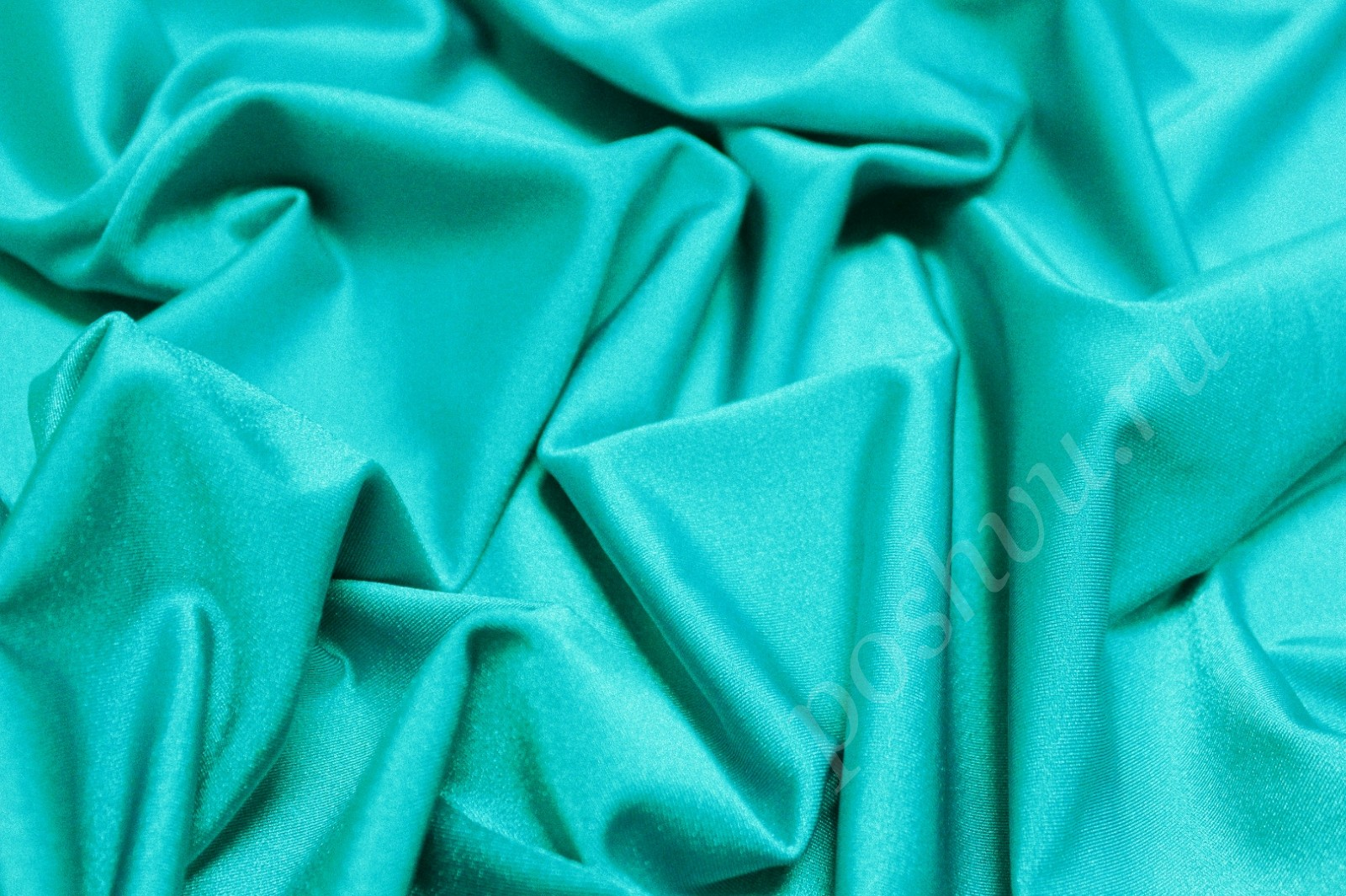 b9ab6eb85f64f Бифлекс плотный бирюзового цвета — купить ткань бифлекс для любого ...