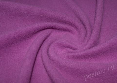 Флис пурпурного оттенка