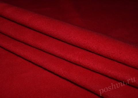 Ткань флисовая Спелая клубника