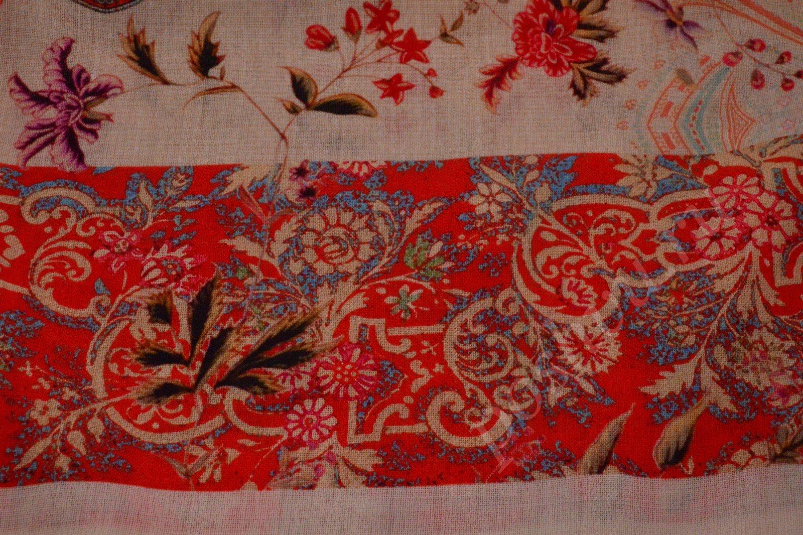 Вышивка по шерстяной ткани