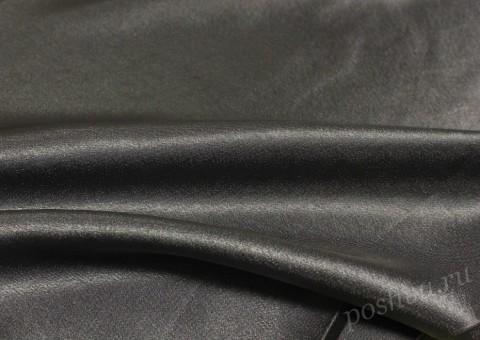 Ткань креп-сатин Серебро