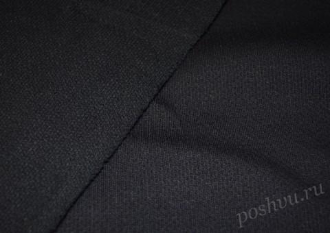Трикотажная ткань Черный плащ