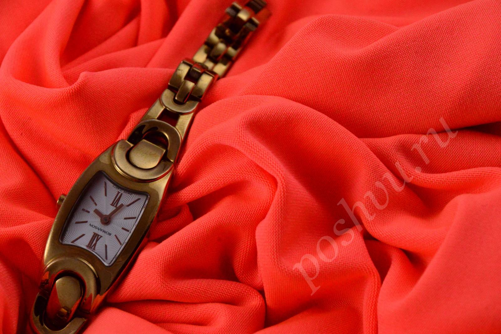 627689beda75 Ткань насыщенный красный трикотаж-масло - купить ткань трикотаж в ...