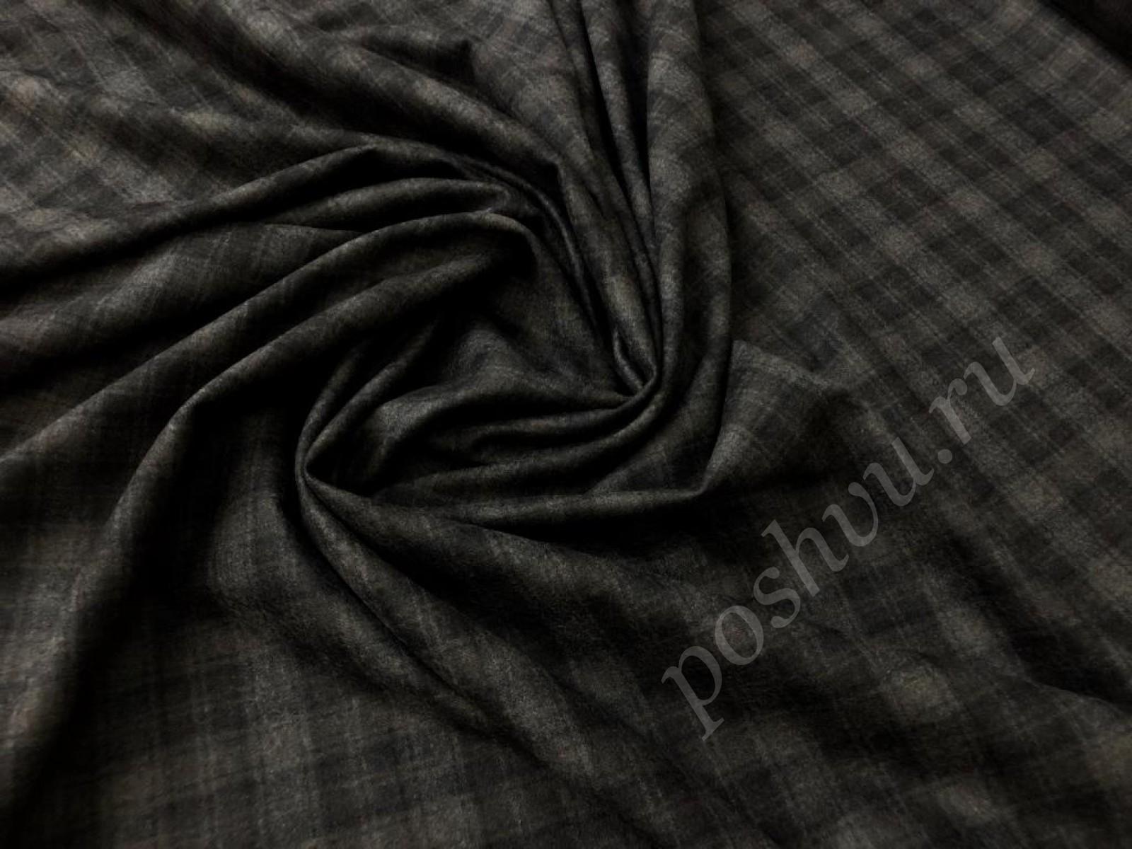 Фланелевая костюмная ткань купить по низкой цене в интернет магазине,  костюмная ткань в цвете коричневый