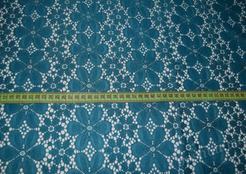 Ткань гипюр Морские барашки