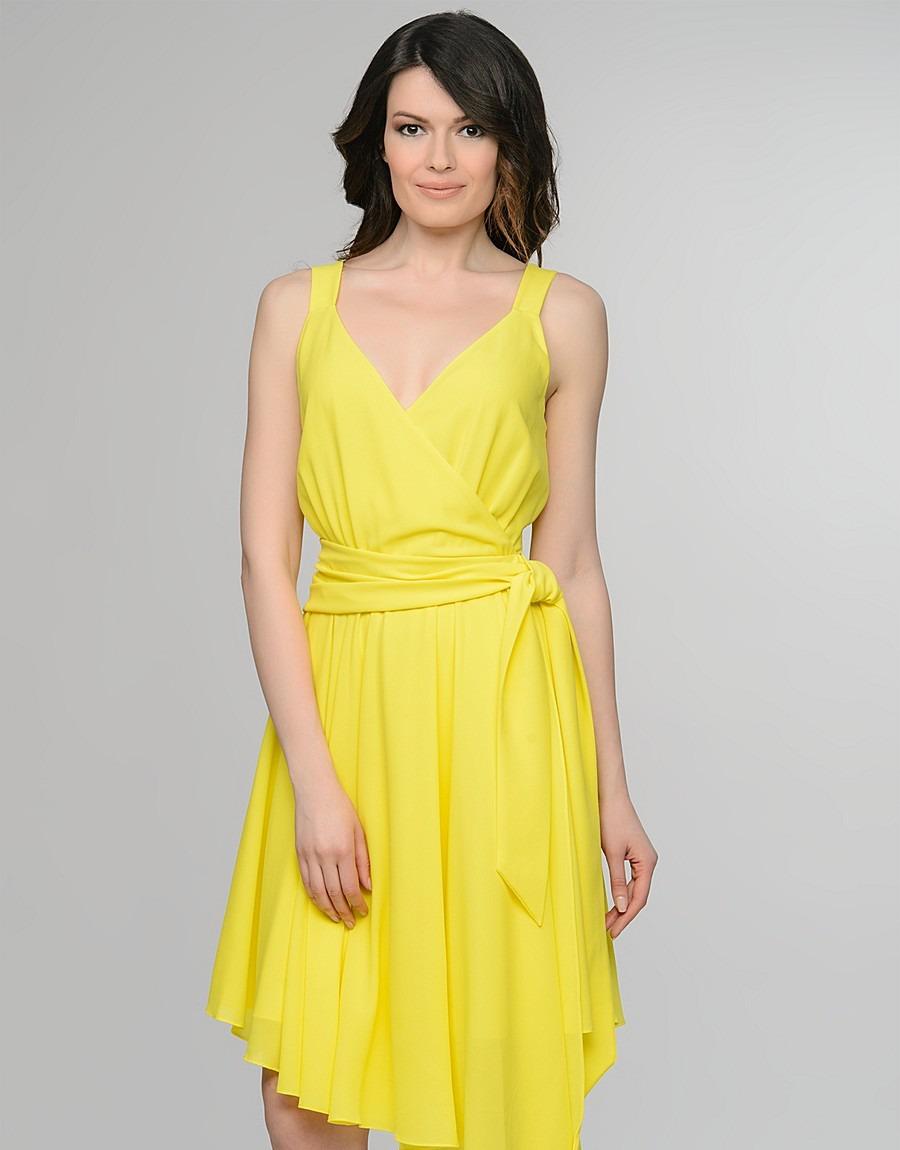 Платье из креп-жоржета фото