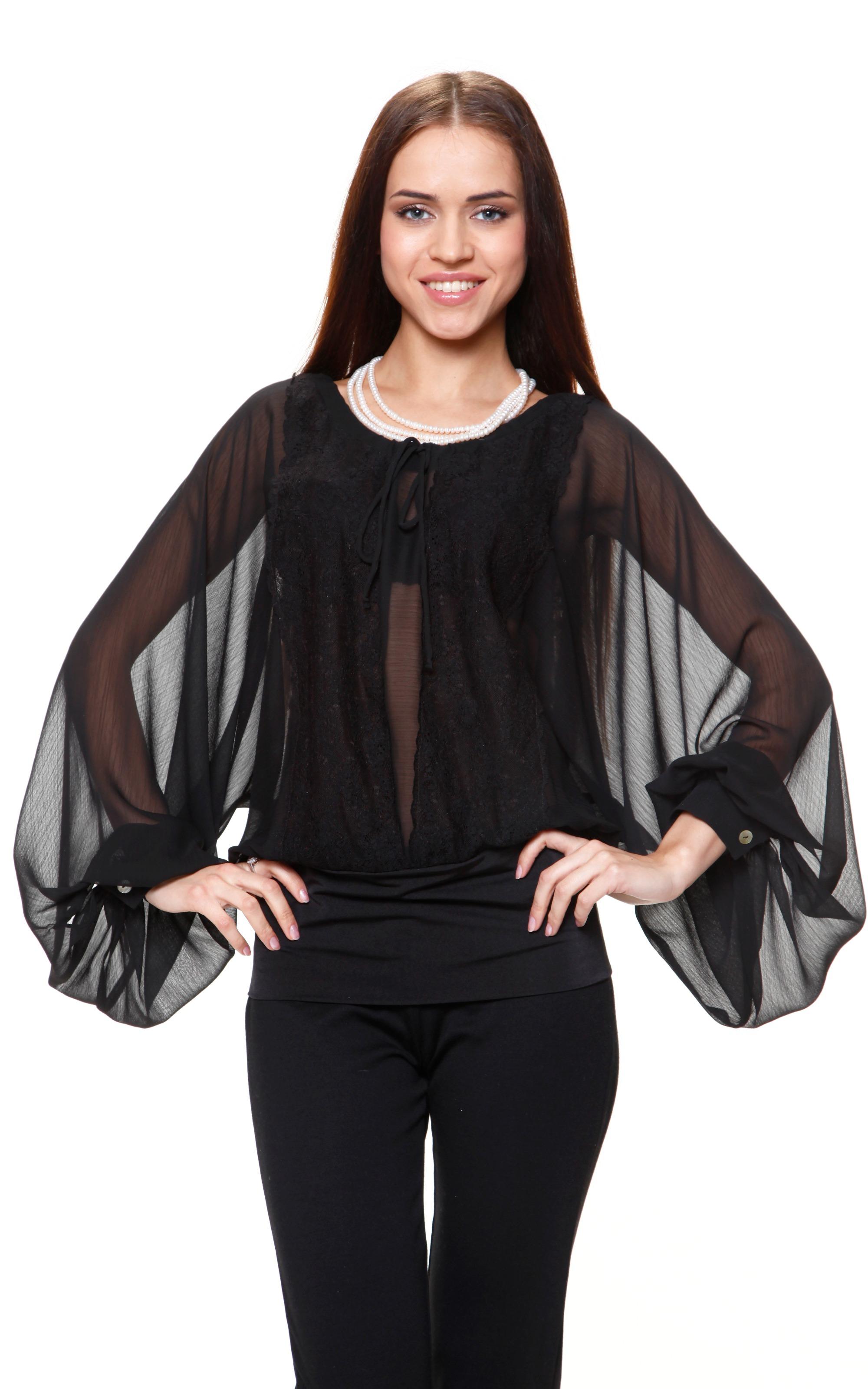 Оригинальные шифоновые блузки - маст хэв женского гардероба для ... 50b08131f672f