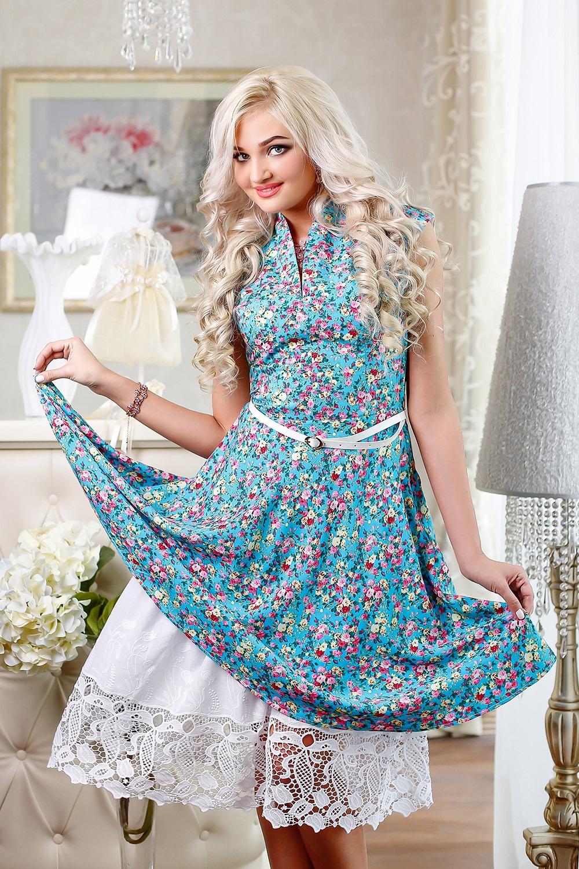 Ситцевое платье своими руками фото 224