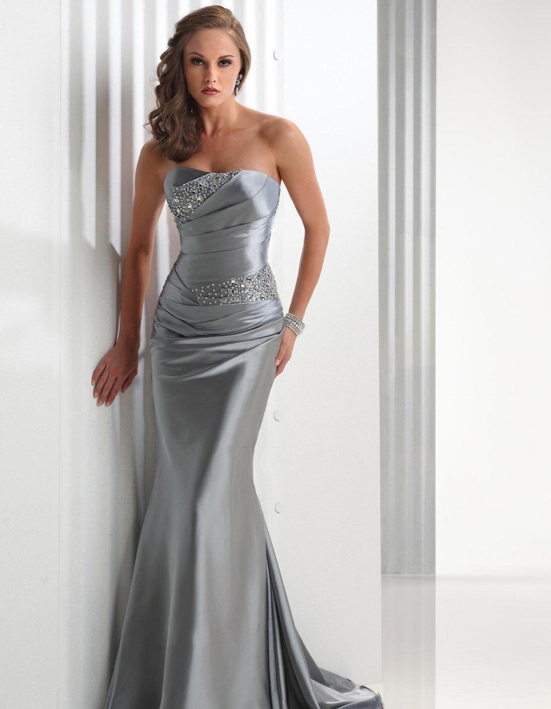 Фасон платья из атлас стрейч
